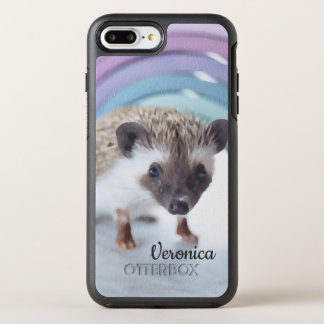 Personalized Colorfully Tiny Hedgehog OtterBox Symmetry iPhone 8 Plus/7 Plus Case