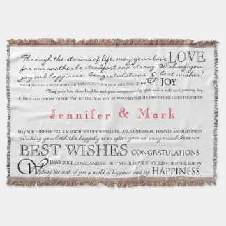 Personalized Congratulations Blanket