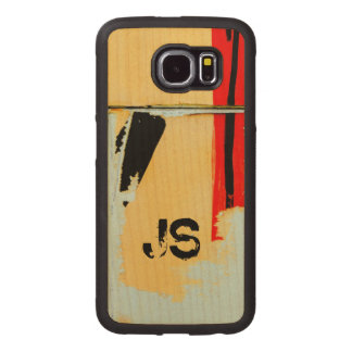 Personalized Cool Peeling Wall Paper Wood Phone Case