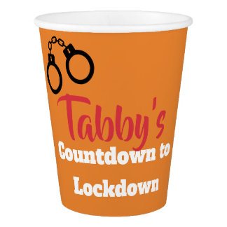 Personalized Countdown to Lockdown Cups