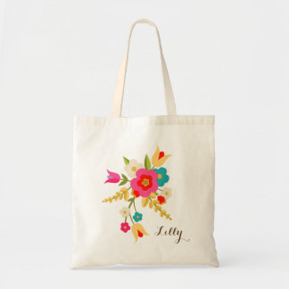 Personalized | Country Flowers Easter Tote
