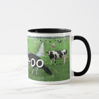 Personalized Cow Gift: Milk Mug with Cows
