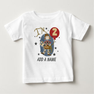 Personalized Cowgirl 2nd Birthday T-shirt
