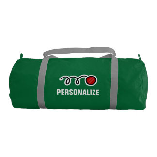 Personalized cricket bag for player and coach
