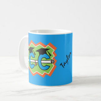 Personalized Cross Country Runner Graduate Coffee Mug
