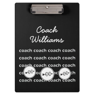 Personalized Cross Country Running Coach Clipboard