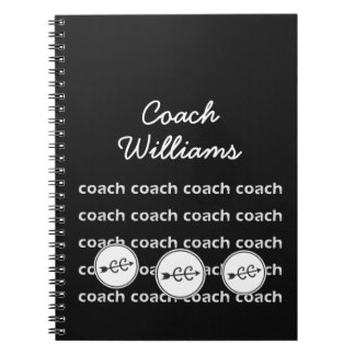 Personalized Cross Country Running Coach Notebook