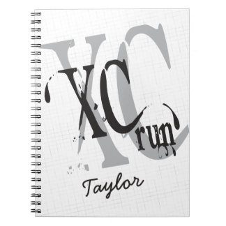 Personalized Cross Country Running XC Notebooks