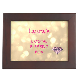 Personalized Crystal Blessing Box Memory Boxes