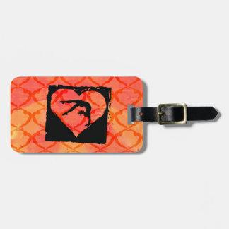Personalized Custom Dance Gymnastics Luggage Tag