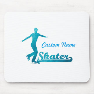 Personalized Custom Figure Skate Giftware Mouse Pad