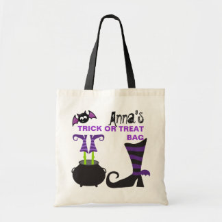 Personalized Custom Halloween Trick or Treat Bag