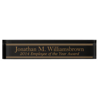 Personalized Custom Monogram Name Plate