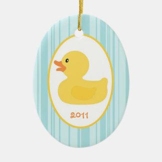 Personalized Custom Ornament Rubber Ducky