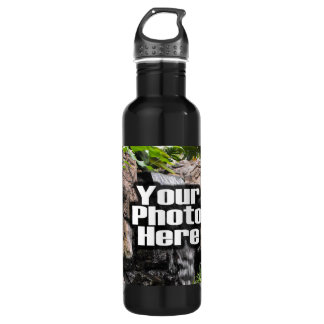 Personalized Custom Photo and Text Recycled Bottle