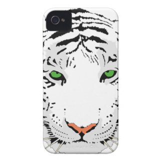 Personalized Custom Snow Tiger iPhone 4 Case