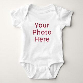 Personalized Customized DIY Photo Baby Bodysuit
