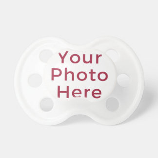 Personalized Customized Photo Baby Pacifier