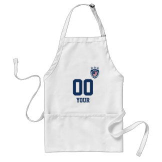 Personalized & Customized USA Sport Jersey Standard Apron