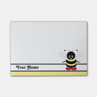 Personalized Cute BumbleBee Post-it® Notes