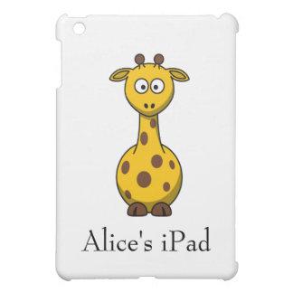 Personalized Cute Cartoon Giraffe  iPad Mini Cases