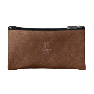 Personalized Cute Chic Copper Look Bag