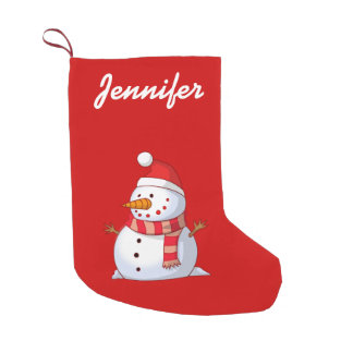 personalized Cute Christmas Snowman