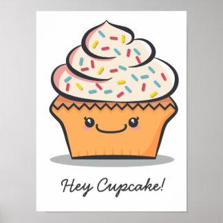Personalized Cute Cupcake Print
