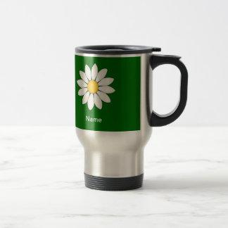 Personalized Cute Daisy Mugs