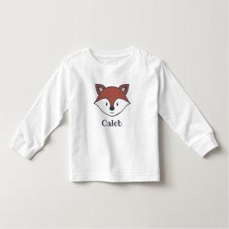 Personalized Cute Fox Shirt