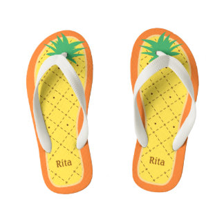 Personalized Cute Pineapple Funny Tropical Fruit Thongs