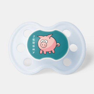 Personalized Cute Pink Pig Dummy