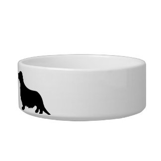 Personalized Dachshund Dog food Cat Bowl