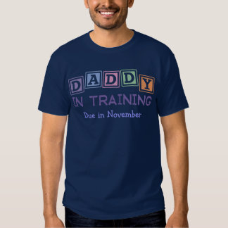 Personalized Daddy In Training T Shirts