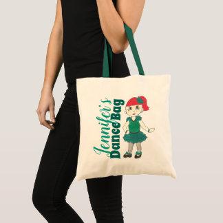 Personalized Dance Teacher Tap Dancer Recital Gift Tote Bag