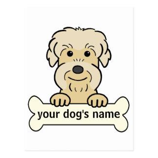 Personalized Dandie Postcard