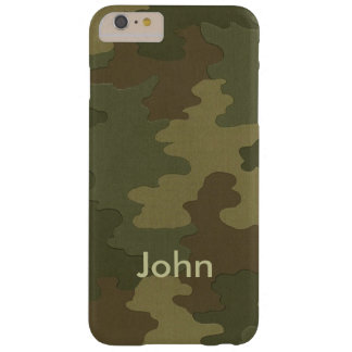 Personalized Dark Camouflage iPhone 6 Case