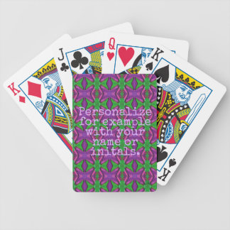 Personalized Deck of Cards #15