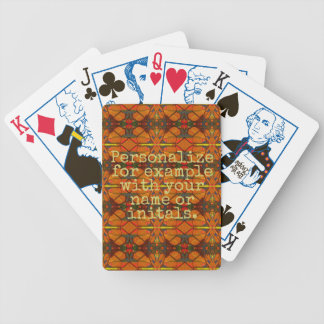 Personalized Deck of Cards #17