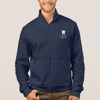 Personalized dentist jacket with tooth logo