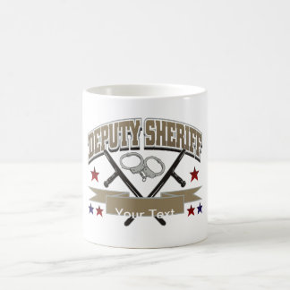 Personalized Deputy Sheriff Coffee Mug