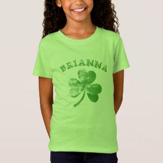 Personalized Distressed Shamrock T-Shirt