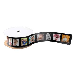 Personalized DIY Photo Template Satin Ribbon