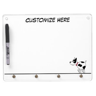 Personalized Dog Keychain Holder & Dry Erase Board