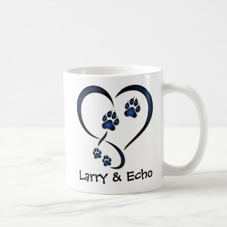 Personalized Dog Lovers Mug - Blue