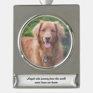 Personalized Dog Memorial Christmas Ornament