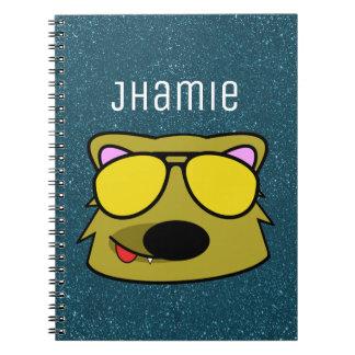 Personalized Doggone Dog BG Notebooks