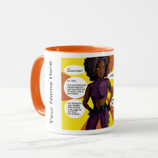Personalized 'Don't Touch My Fro' Mug