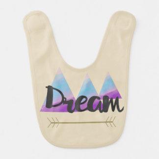 Personalized Dream Baby Bib