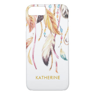 Personalized Dream Catcher Feathers iphone cover